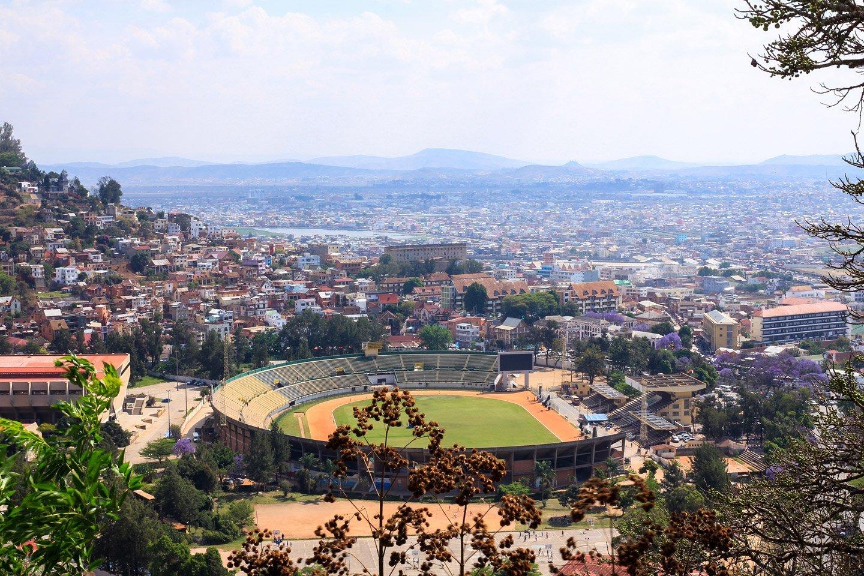 Vista de Antananarivo