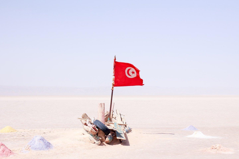 Chott el Djerid, Túnez.