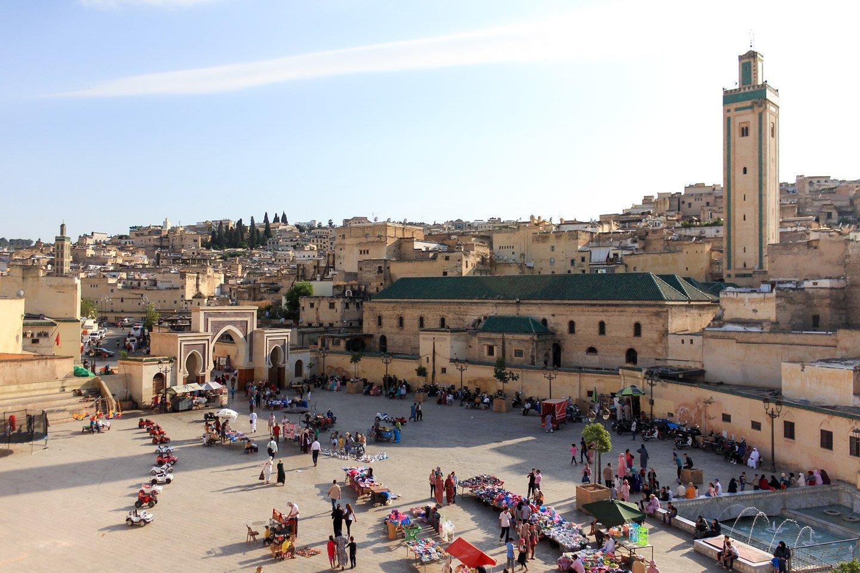 Medina de Fez, Marruecos.