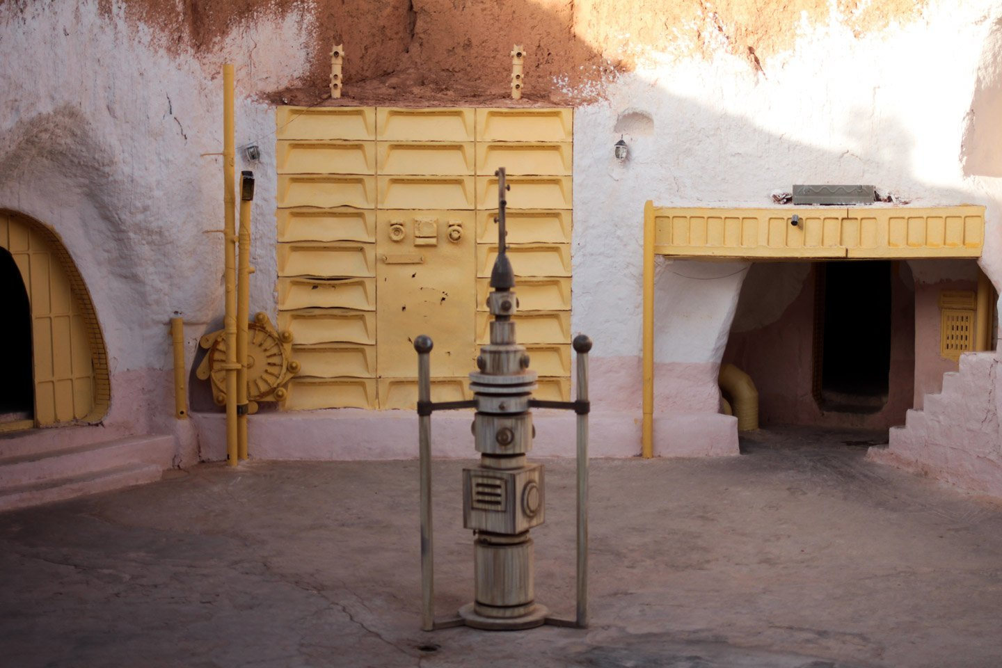 Hotel de Moula Idris, set de Star Wars.