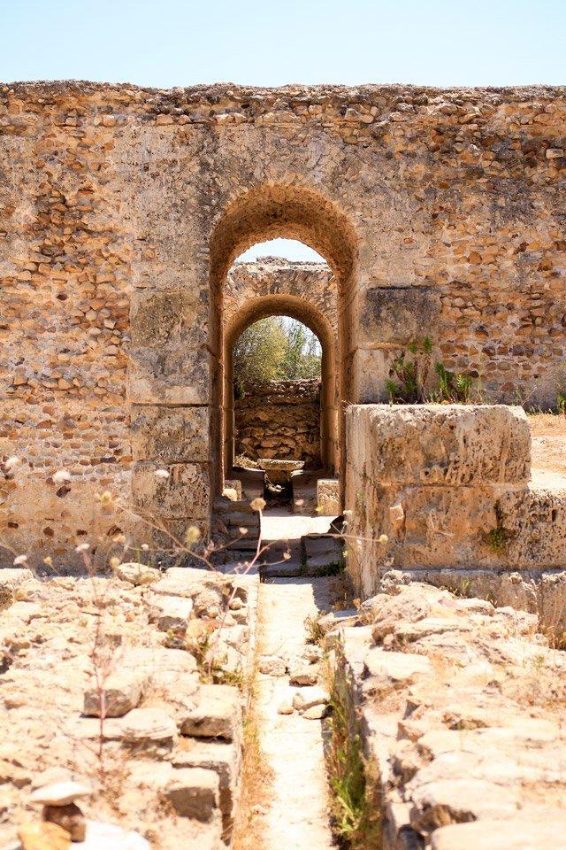 Ruinas de Cartago, Túnez.