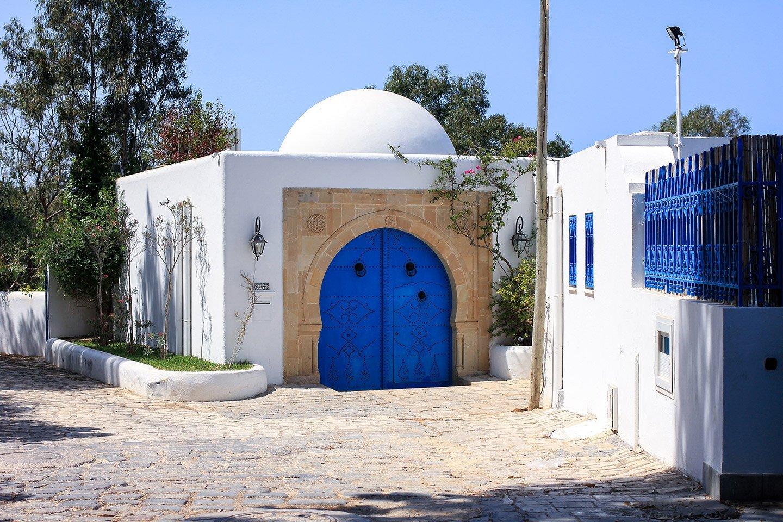 Casas de Sidi Bou Said, Túnez