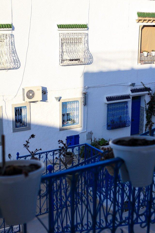 Casas en Sidi Bou Said, Túnez