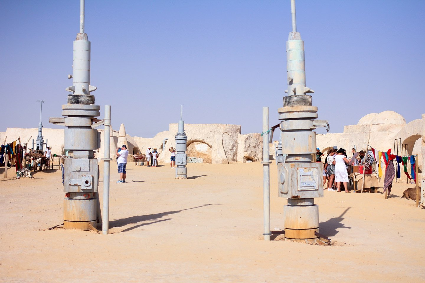 Star Wars, set de Mos Espa.