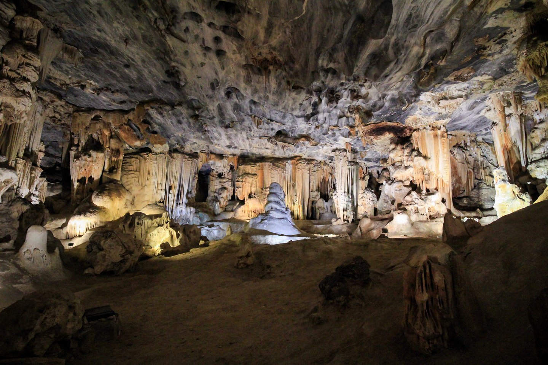 Cango Caves, Oudtshroorn, Sudáfrica.