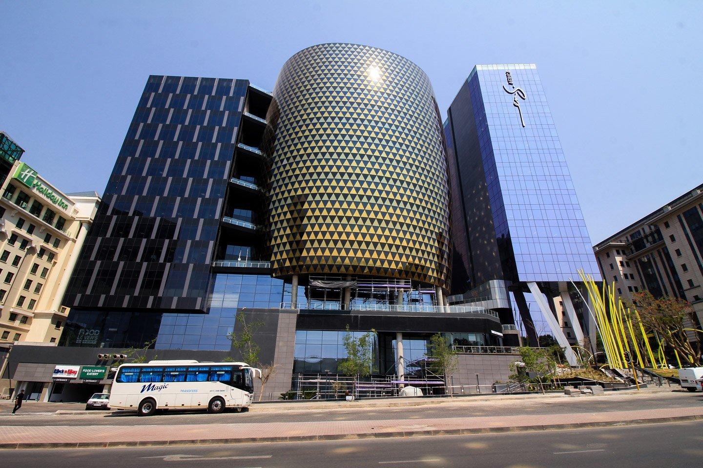 Edificios en Sandton, Johannesburgo.