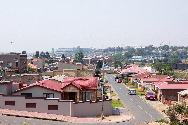 Calles de Soweto, Sudáfrica.