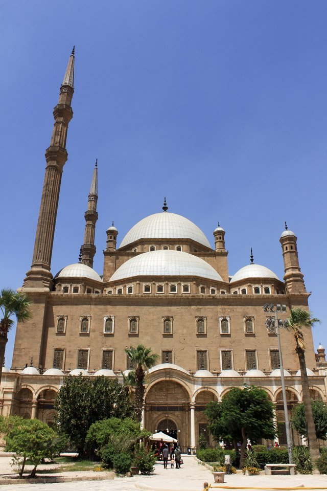 Exterior de la Mezquita de Mehmet Ali.
