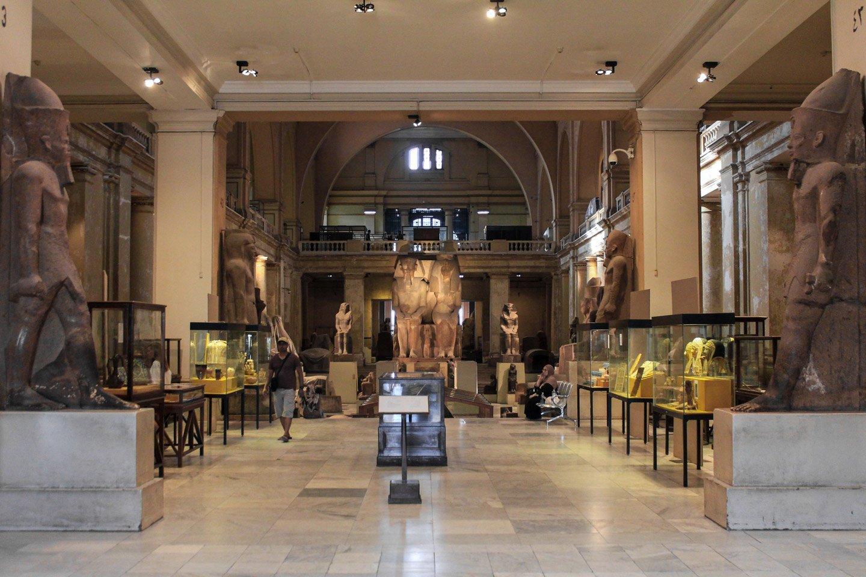 Museo Egipcio de El Cairo.