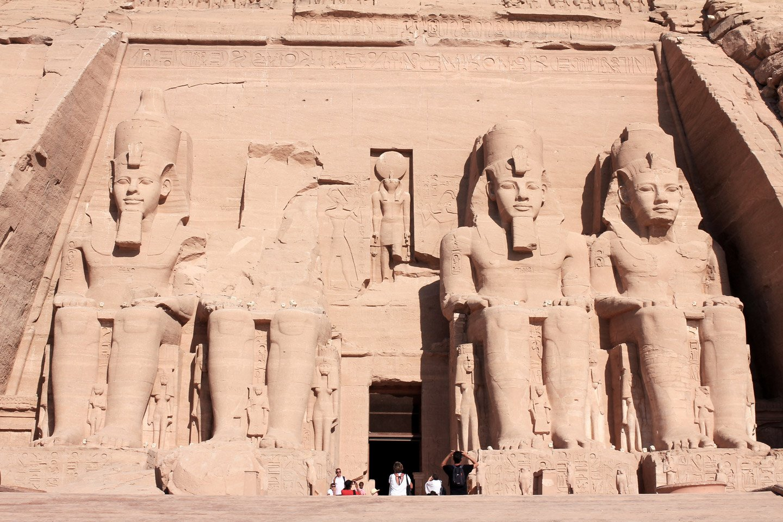 Templo de Ramses II en Abu Simbel.
