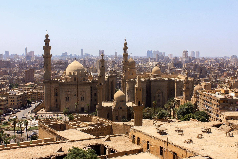 Vista de El Cairo, desde la Ciudadela.