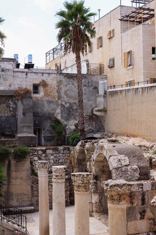 Antiguas edificaciones de Jerusalem.