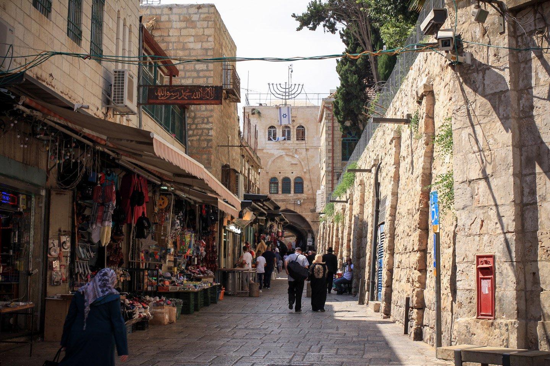 Calles del antiguo Jerusalem.