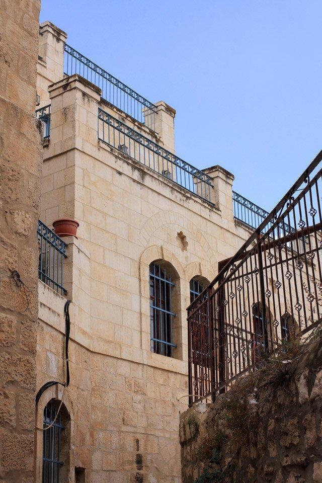 Construcciones en Jerusalem.