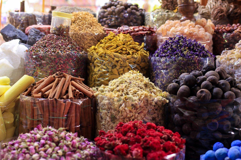 Spices Souk en Dubai.