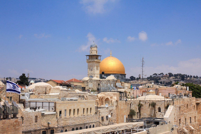 Vista de los techos de Jerusalem.