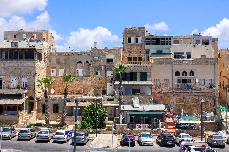 Vista interior de la Ciudadela de Acre, Israel.